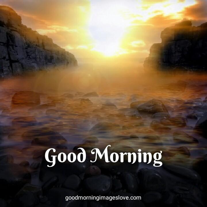 Sun Rising Good Morning Images