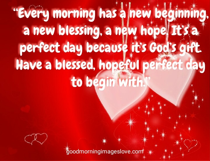 good morning quotes on red steeker
