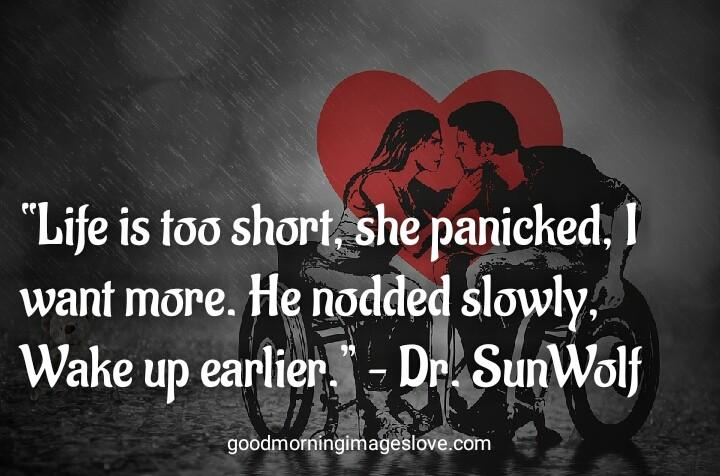 handicap couple in the rain loving quotes