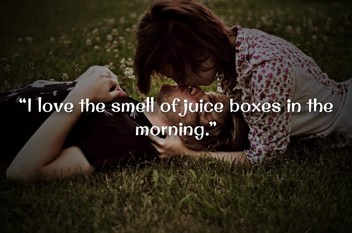 couple kissing in garden morning quotes