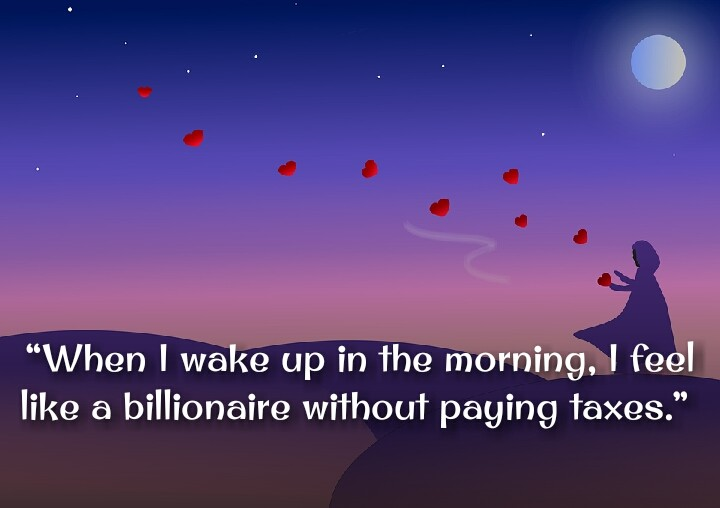 3d images girls flying heart on sky morning quotes