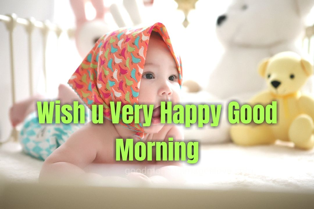 child picture morning wishes message