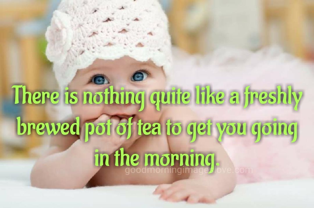 sweet morning child pic