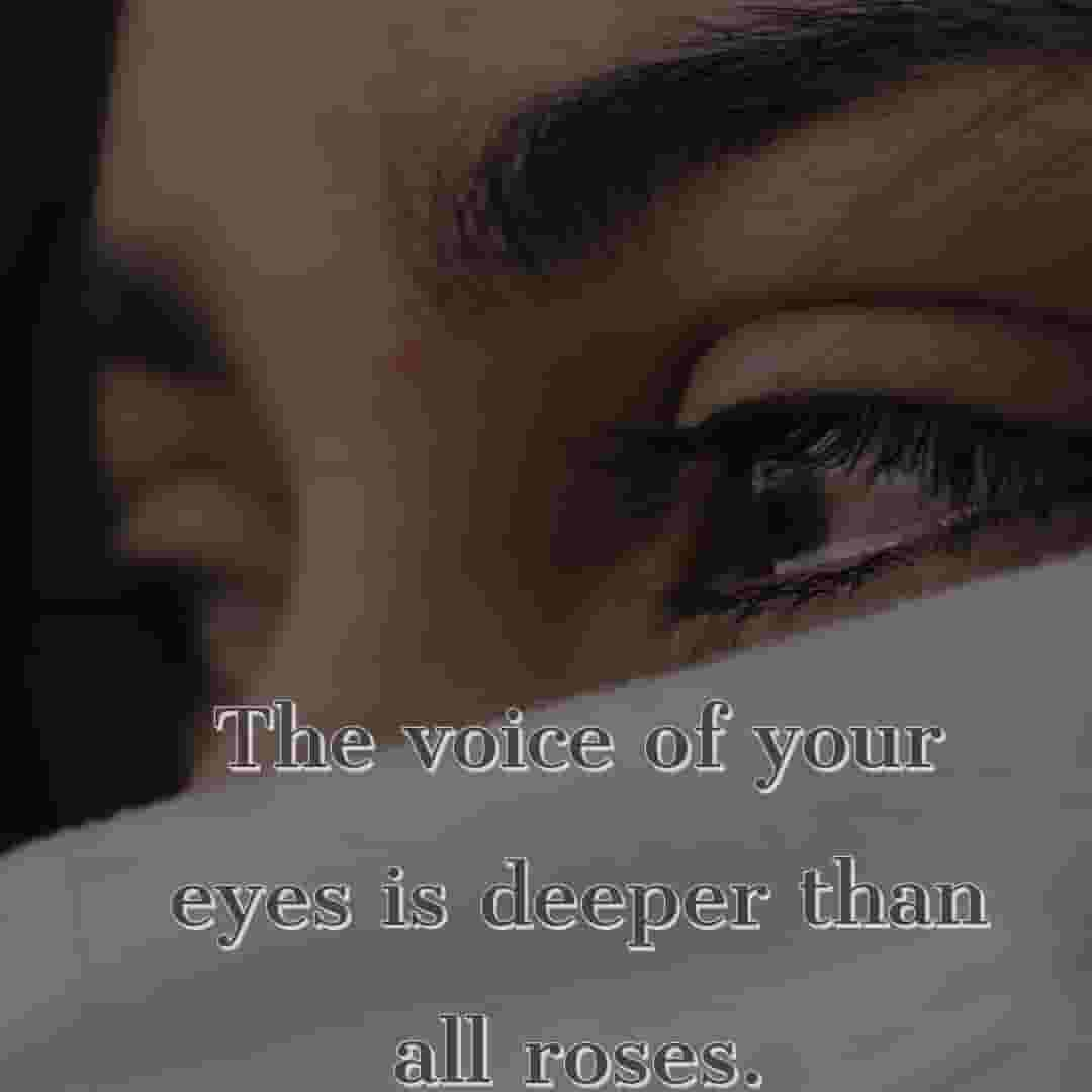 your beautiful eyes