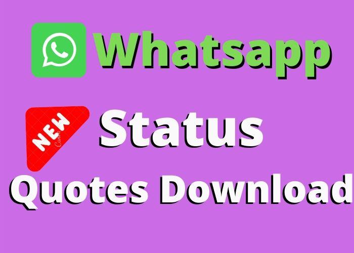 Whatsapp Status Download in English