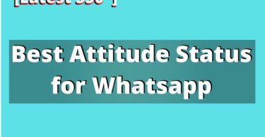 Best Attitude Status for Whatsapp