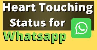 Heart Touching Status Lines for Whatsapp